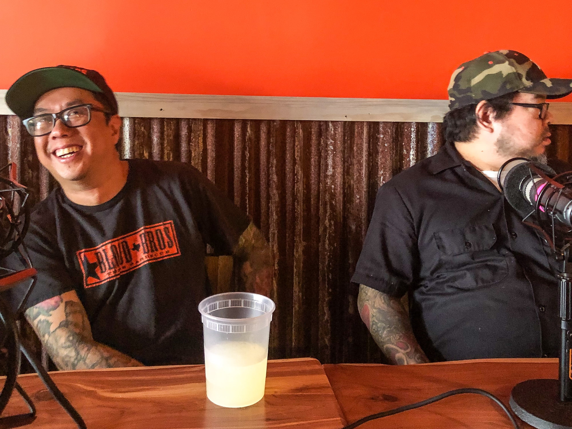 Blood Bros. BBQ owners Quy Hoang and Robin Wong