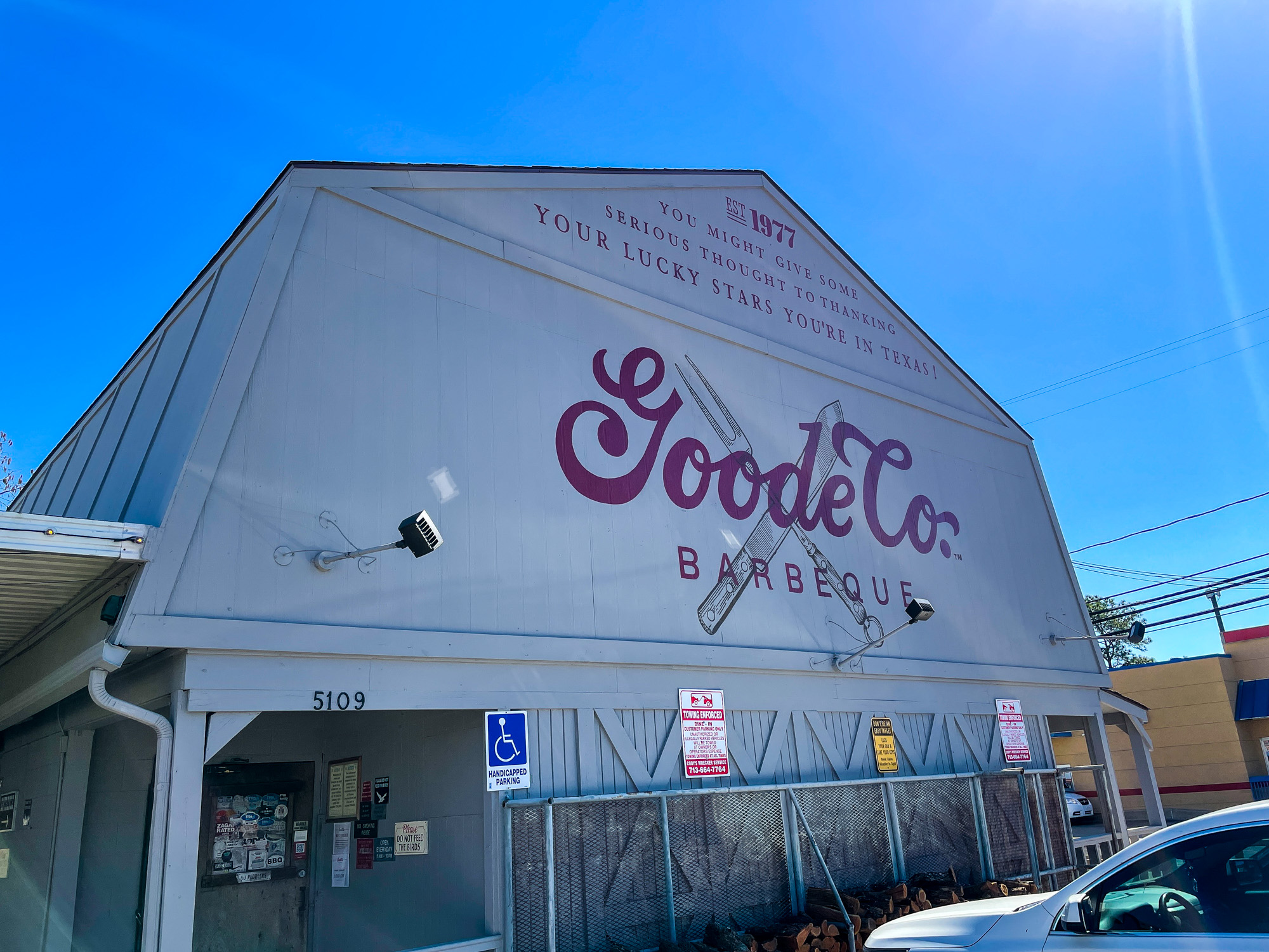 Goode Co. Barbeque - Kirby